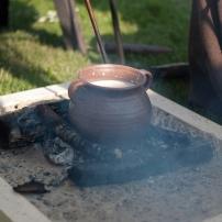 Tongrape nach Keramikfunden aus Siegburg, 13. Jahrhundert