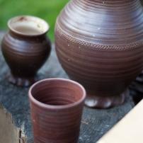 Trinkbecher nach Keramikfunden aus Siegburg, 13. Jahrhundert