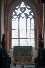 Der Altarraum der Mönche