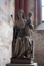 Madonnenstatue aus Köln, um 1300