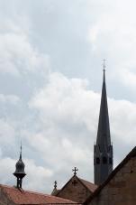 Der aufgesetzte Kirchturm war ein Merkmal von Zisterzienserklöstern
