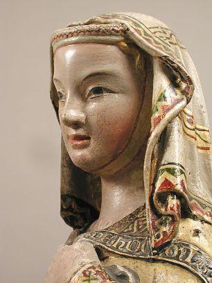 Maria Magdalena, Statue des Bildhauer Meisters Heinrich von Konstanz, ca 1300