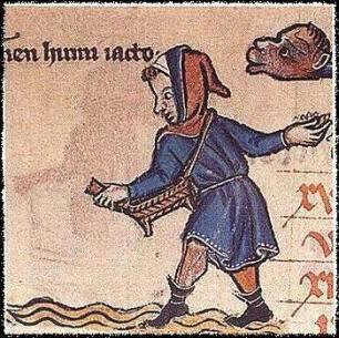 Canterbury Calendar, ca 1280