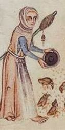 Luttrell Psalter, ca 1340